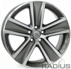 WSP Italy Volkswagen (W463) Cross Polo 7x16 5x100 ET46 DIA57,1 (anthracite polished)